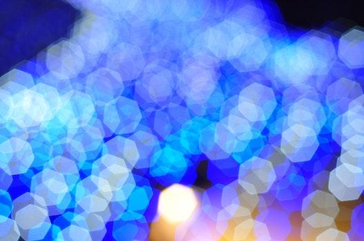Desktop background of light, art, blue, pattern