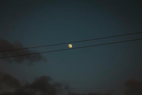 Fotos de stock gratuitas de #outdoorchallenge, Luna, luz de la luna, noche