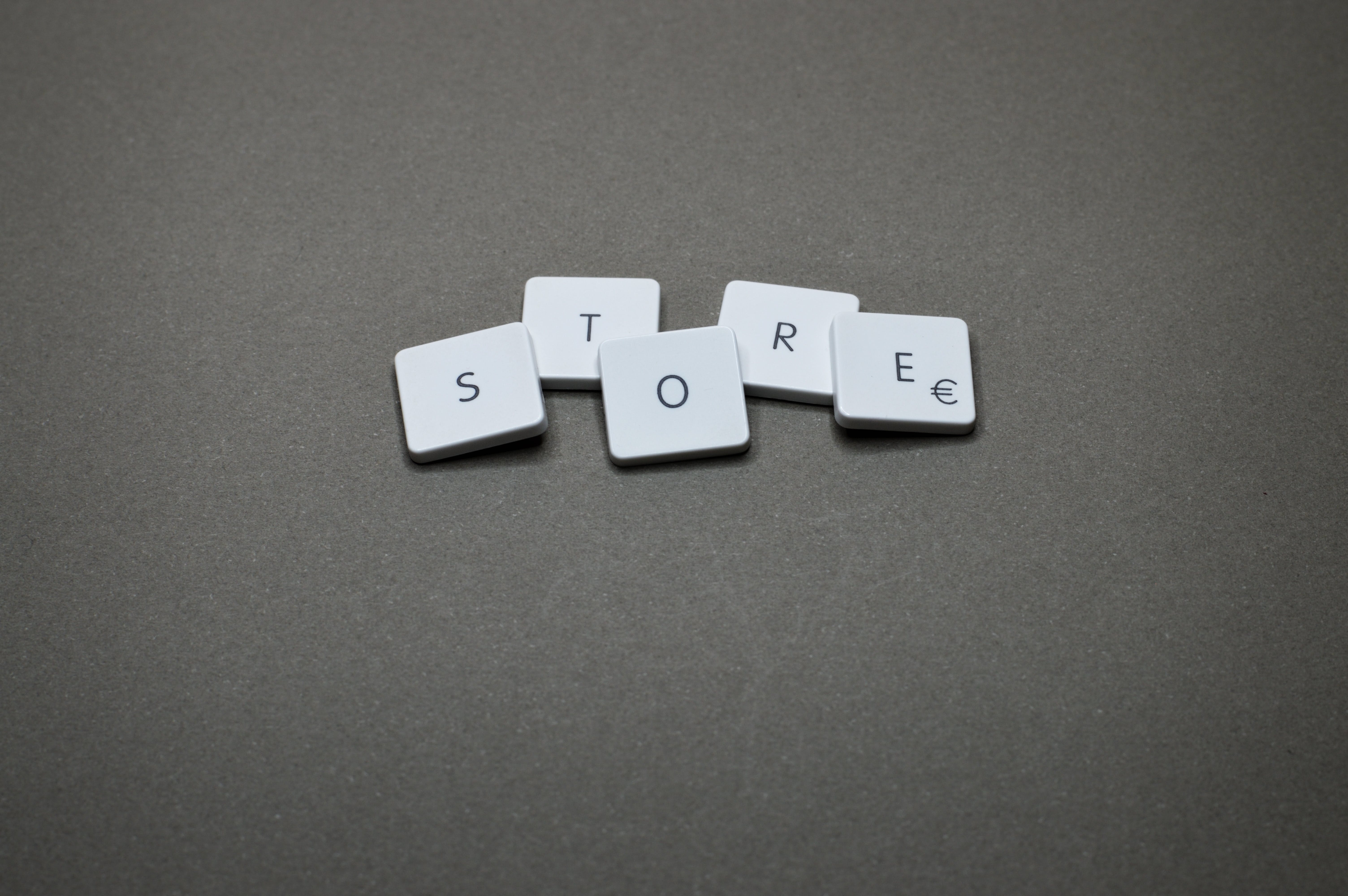 Store Text Signage