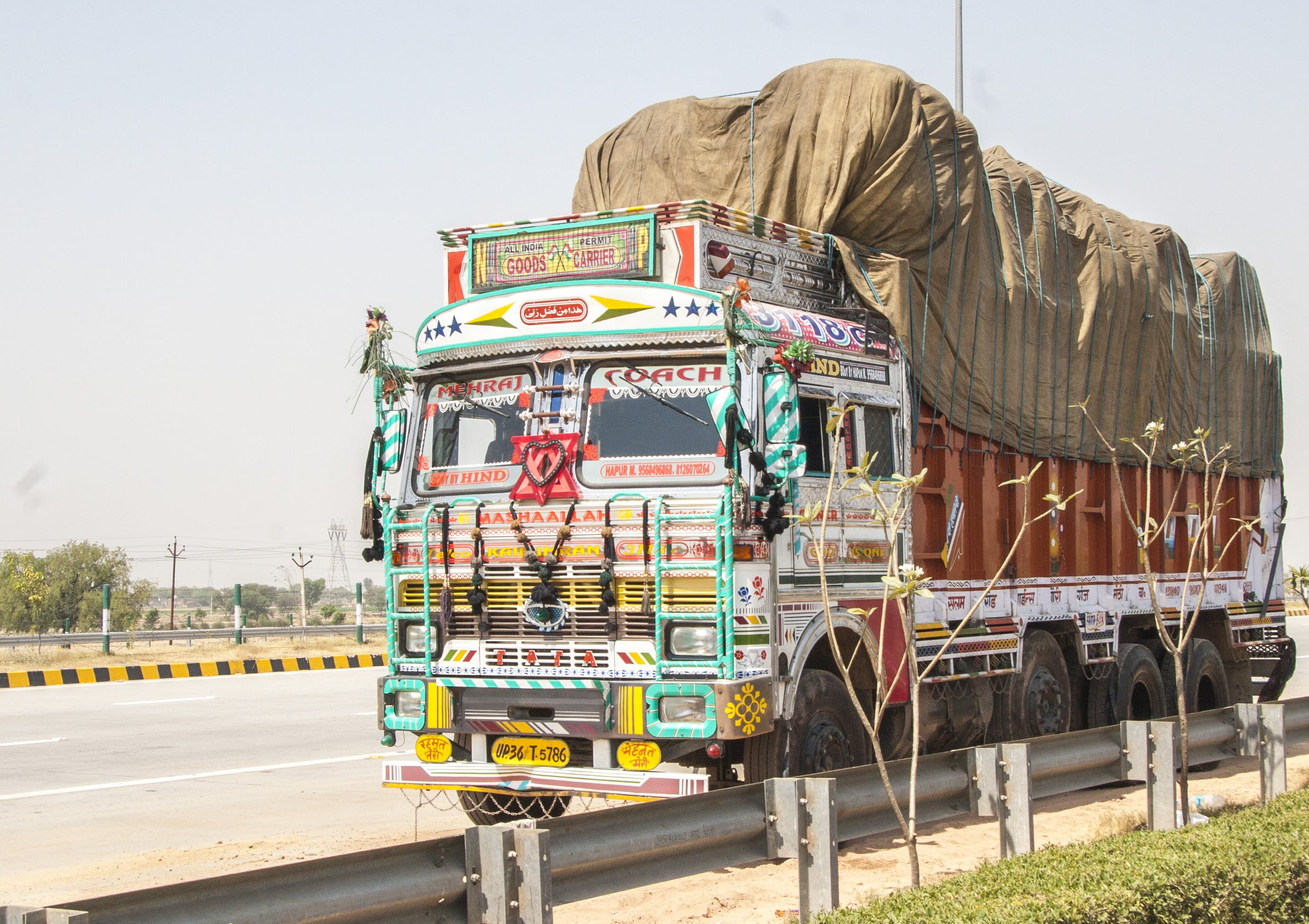 Free stock photo of indian, truck