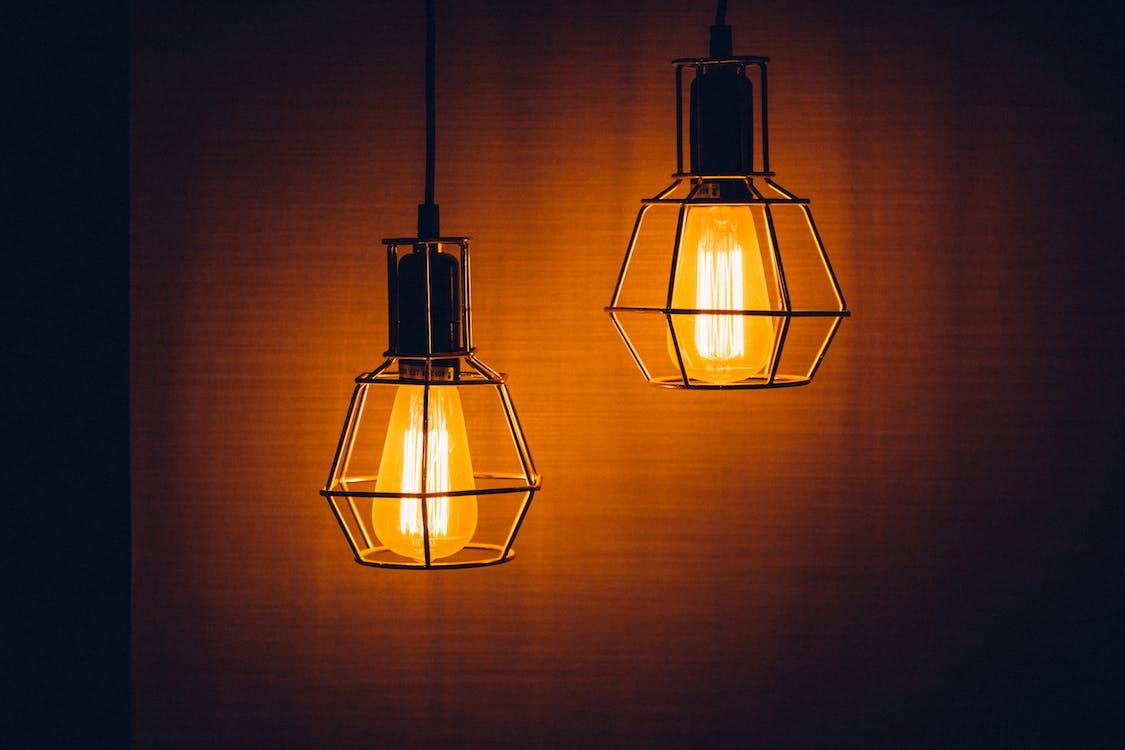 吊灯, 掛, 明亮