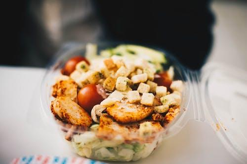Ingyenes stockfotó croutons, ebéd, Egészség, élelmiszer témában