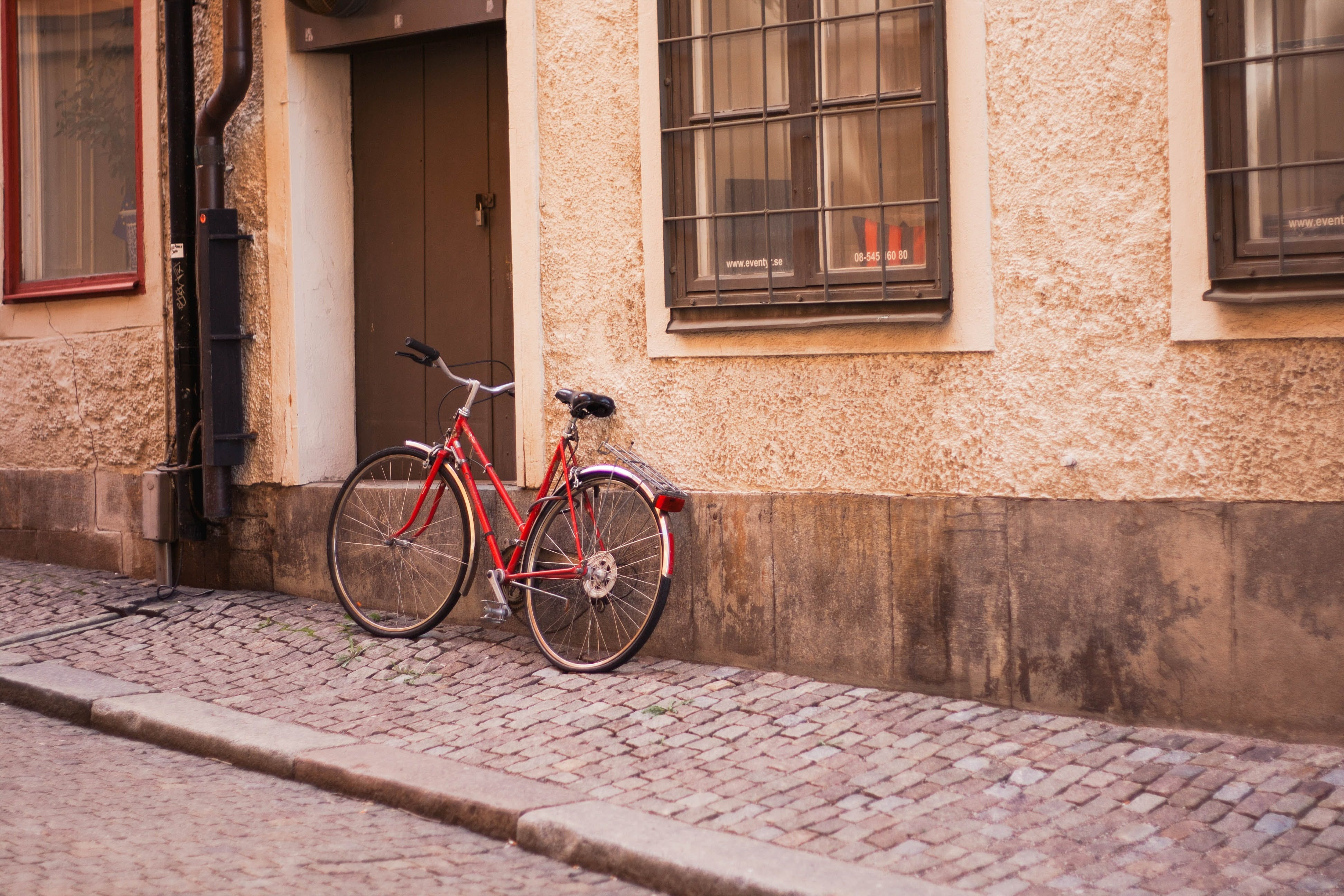 Photo of Bicycle Parked On Table