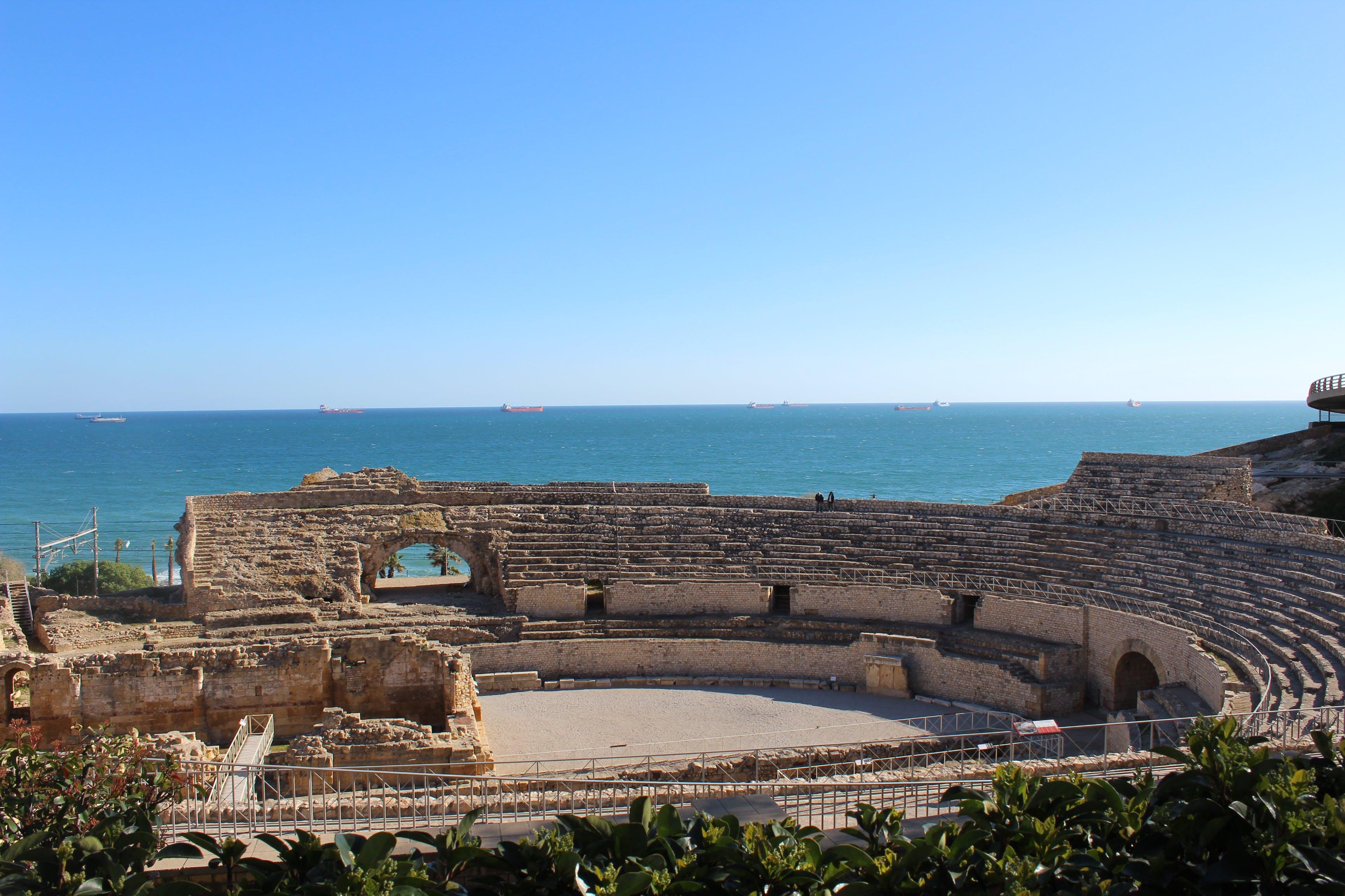 Free stock photo of ancient theater in tarragona