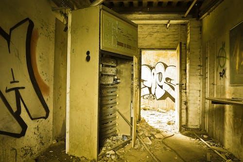 Ingyenes stockfotó elhagyatott, épület, fal, falfirka témában