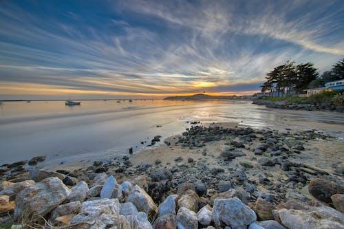 Безкоштовне стокове фото на тему «берег моря, вечір, вода, водойма»