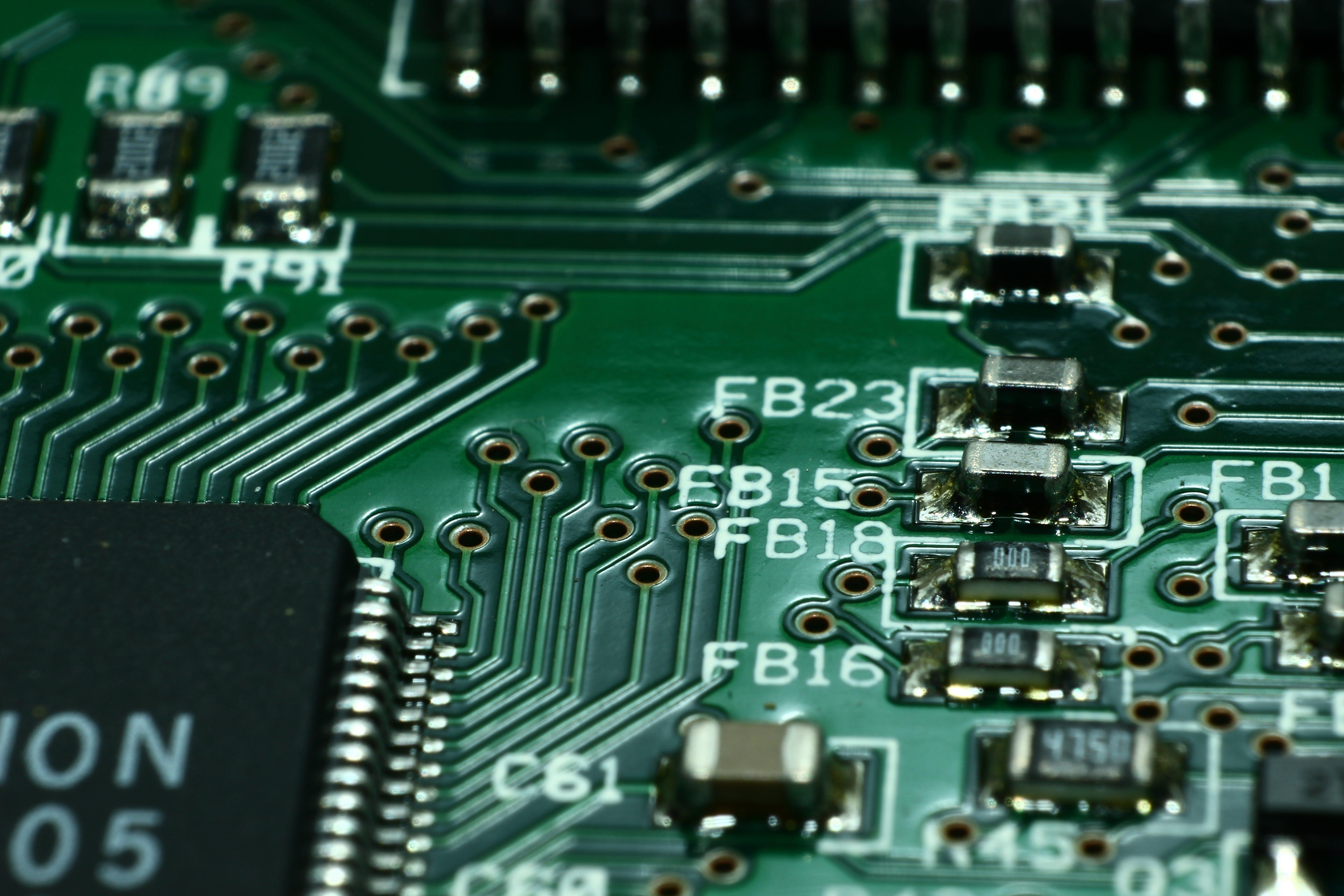 Foto d'estoc gratuïta de a prop, circuit, circuits, components