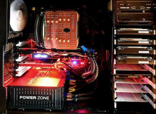 Бесплатное стоковое фото с легкий, процессор, электроника
