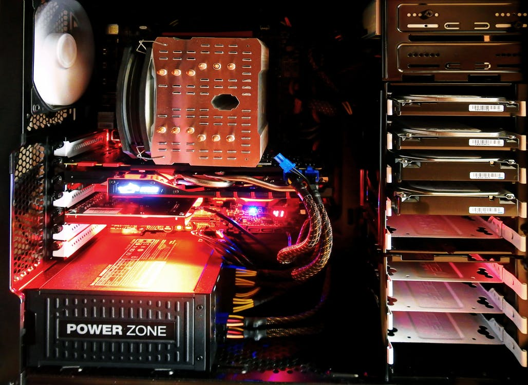 中央處理器, 光, 光線