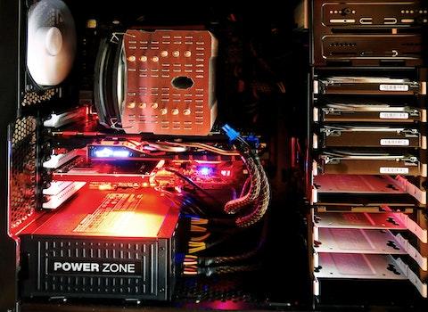Black Computer Motherboard