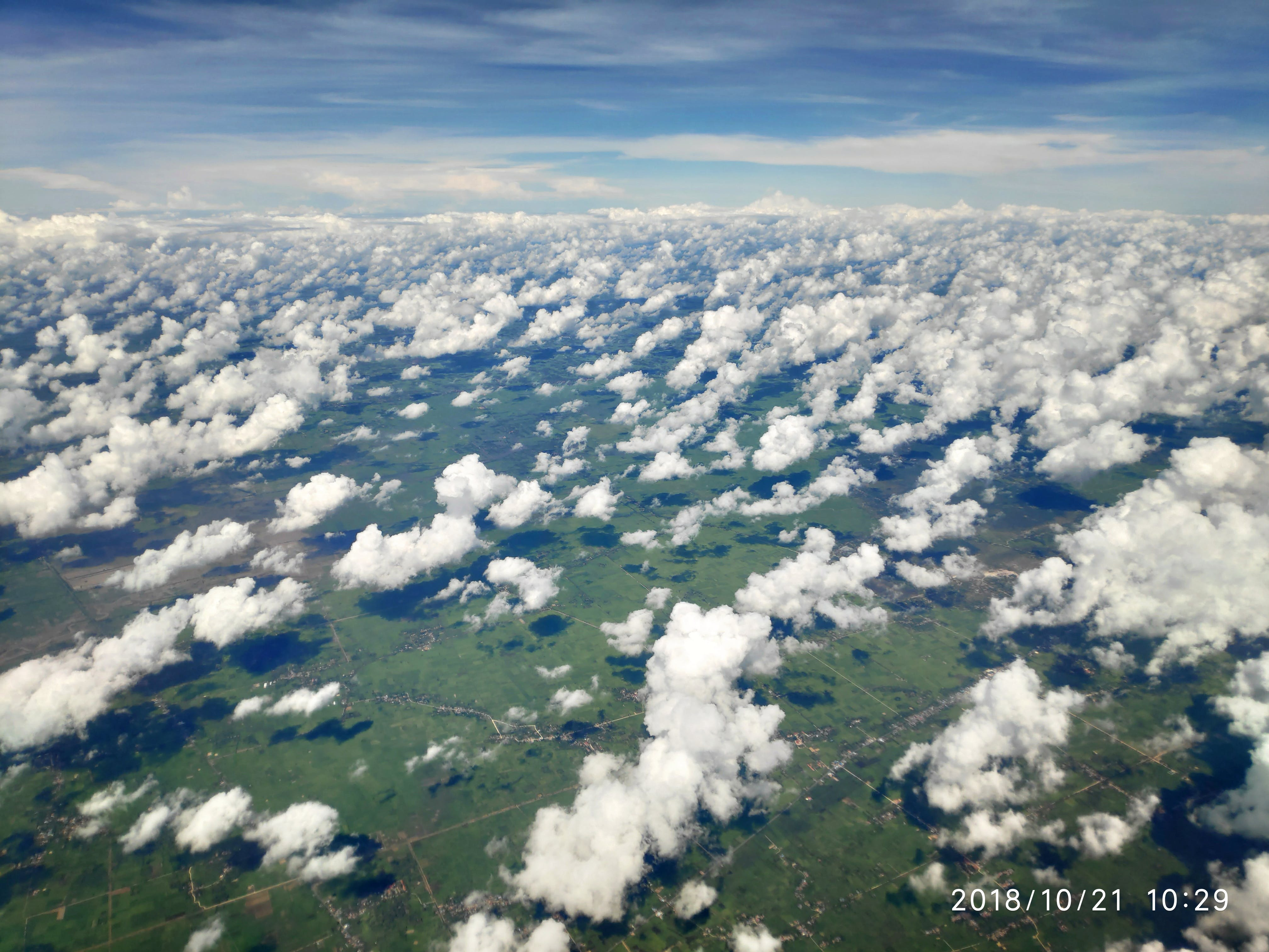 Free stock photo of Resting clouds