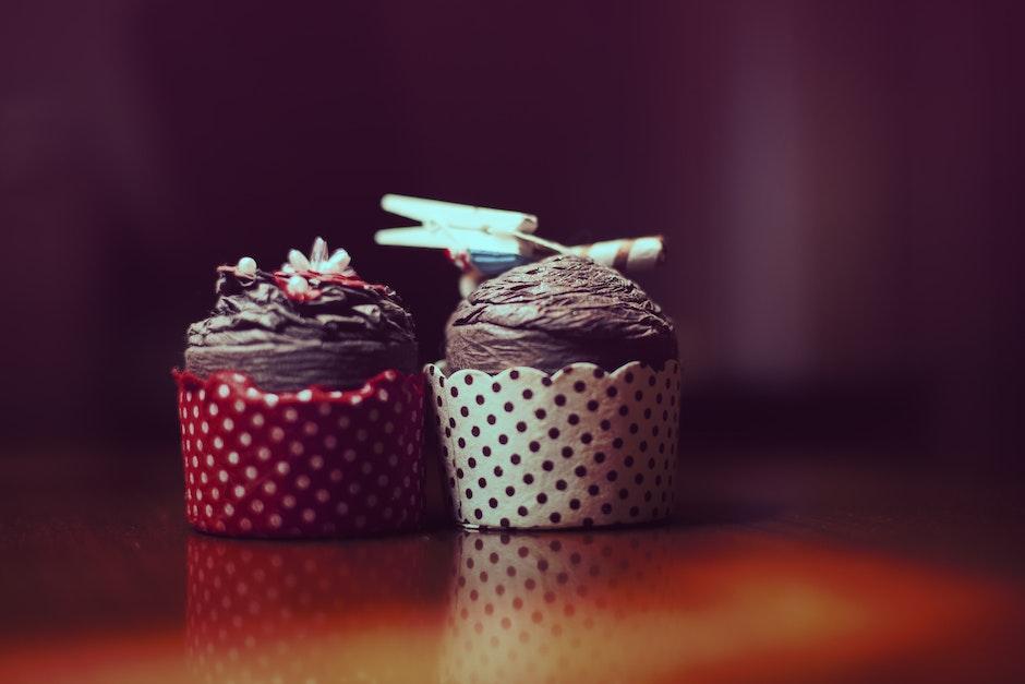 bakery, chocolate, cupcakes