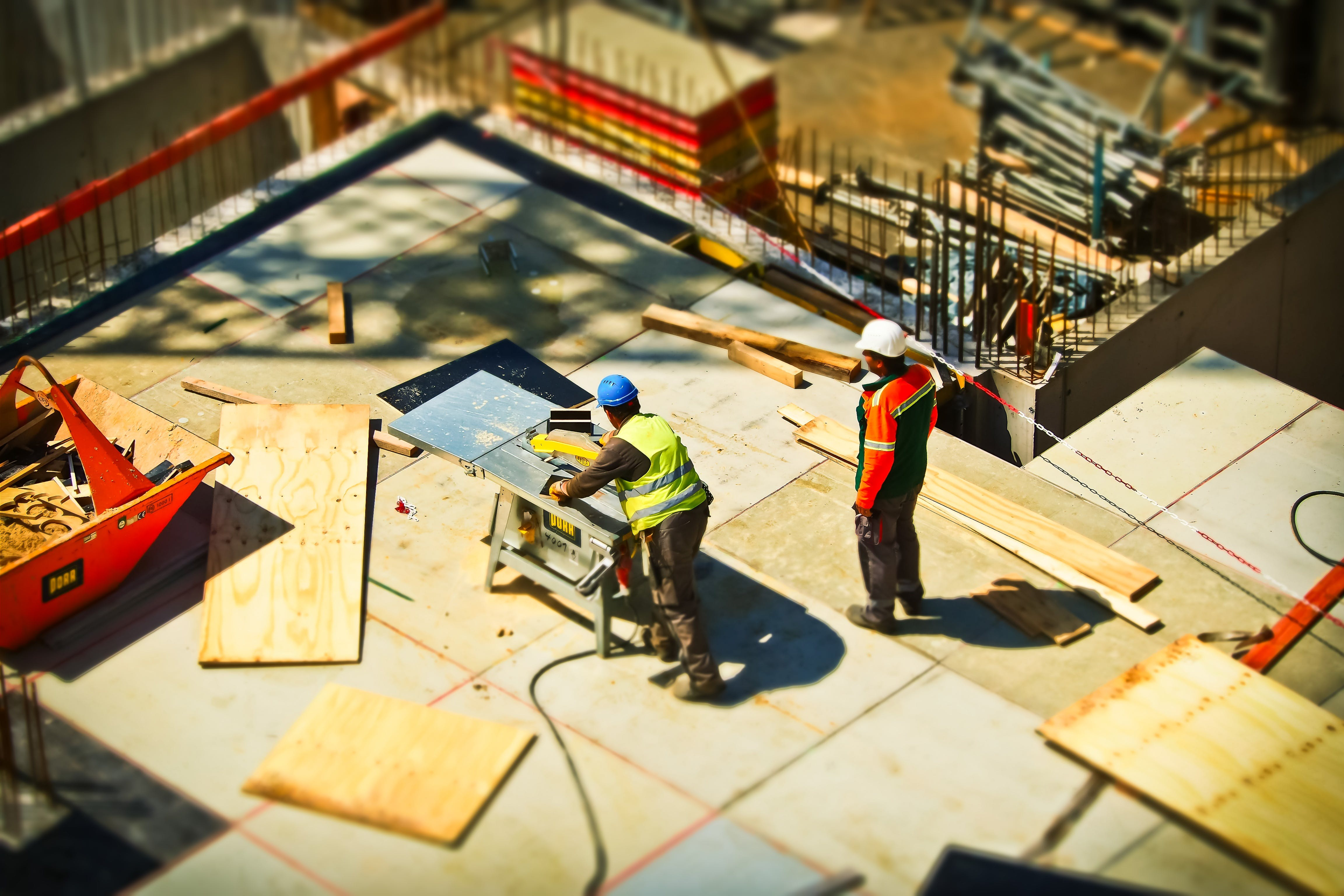 2 Man on Construction Site during Daytime
