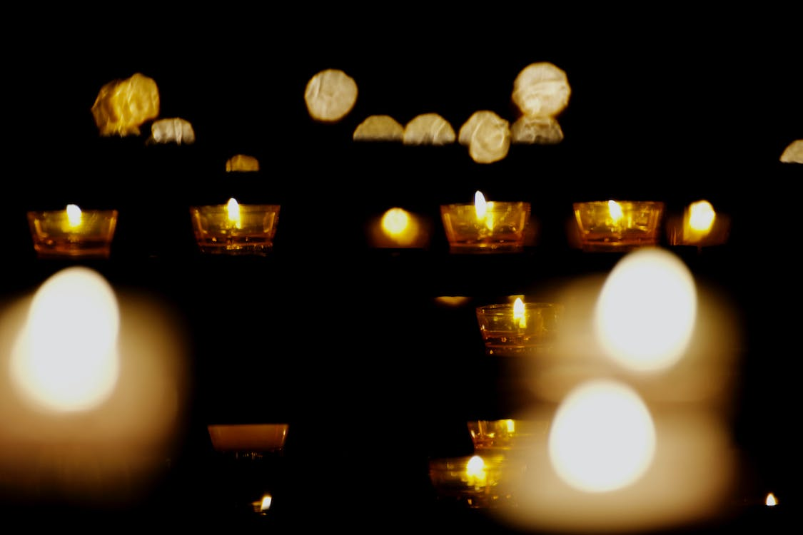 Free stock photo of candle, church, day of love