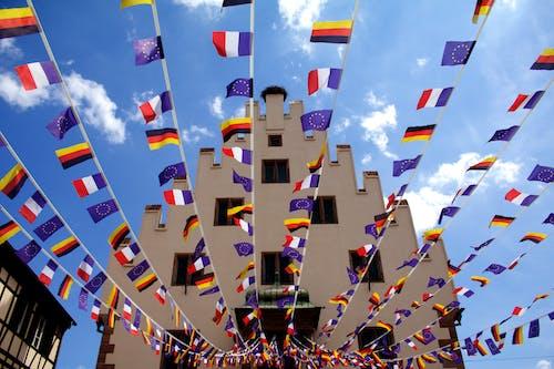 Základová fotografie zdarma na téma evropa, vlajky
