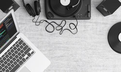 唱盤, 技術, 揚聲器, 筆記本電腦 的 免費圖庫相片