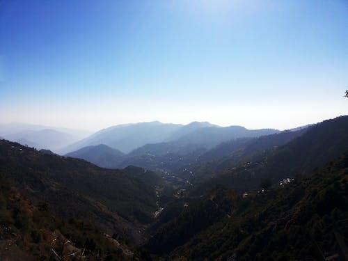 天空, 山, 山谷, 日光 的 免費圖庫相片