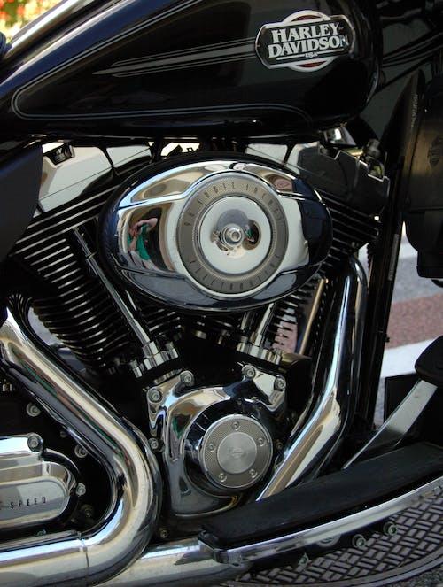 Fotos de stock gratuitas de chrome, clásico, cromo, Harley Davidson