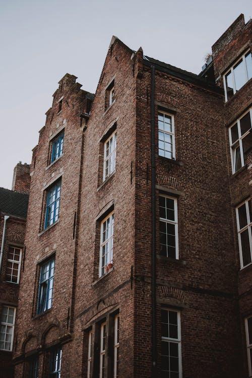 aparência, apartamento, arquitetônico