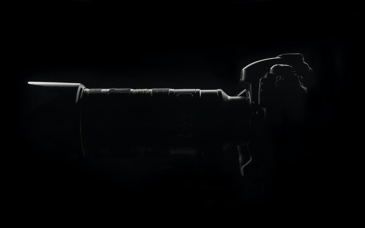 dslr, dslr-kamera, dunkel
