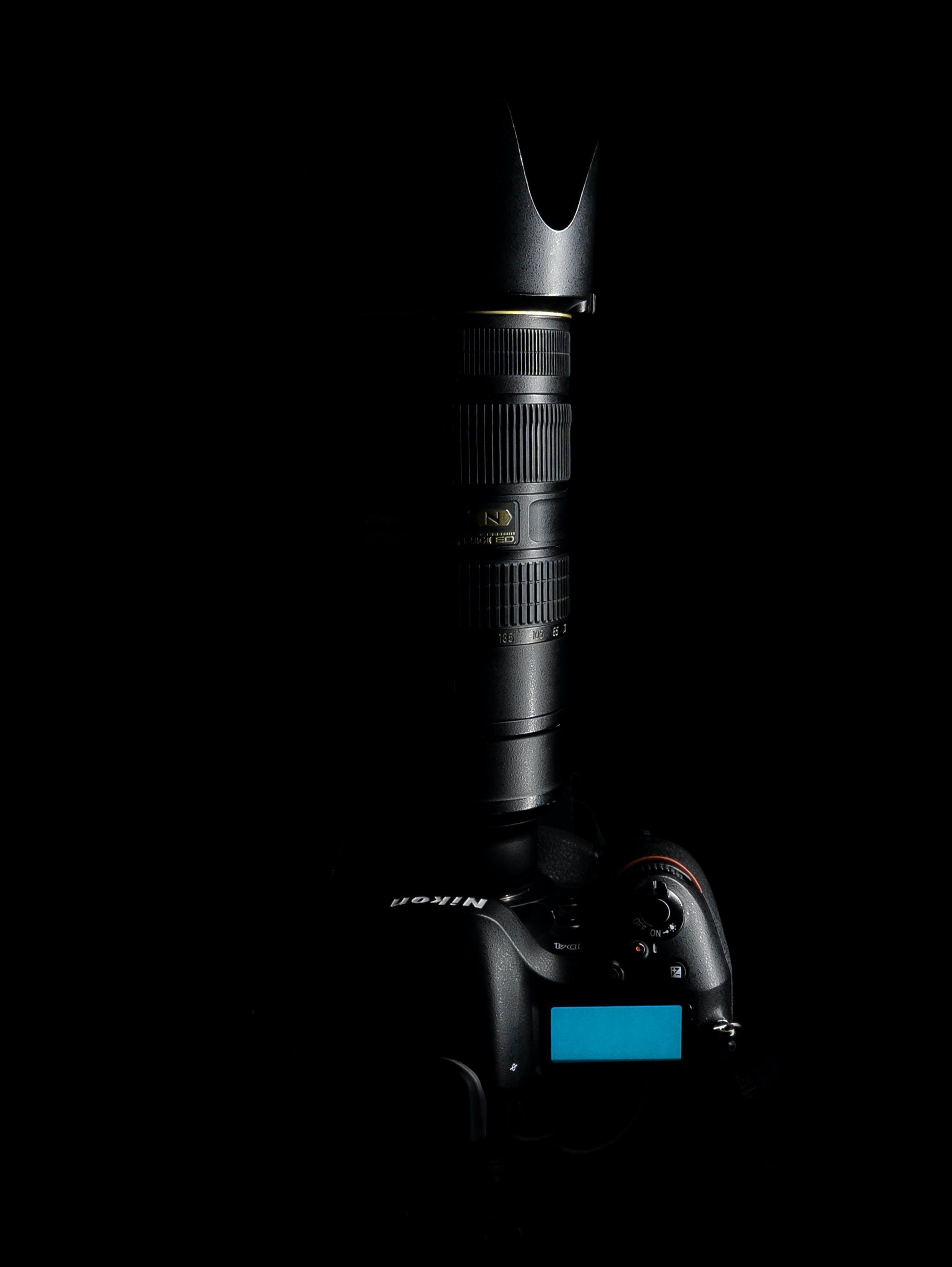 Top View Photo of Nikon Camera