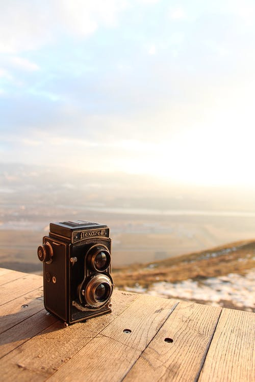 bağbozumu, eski model kamera, eski tip içeren Ücretsiz stok fotoğraf