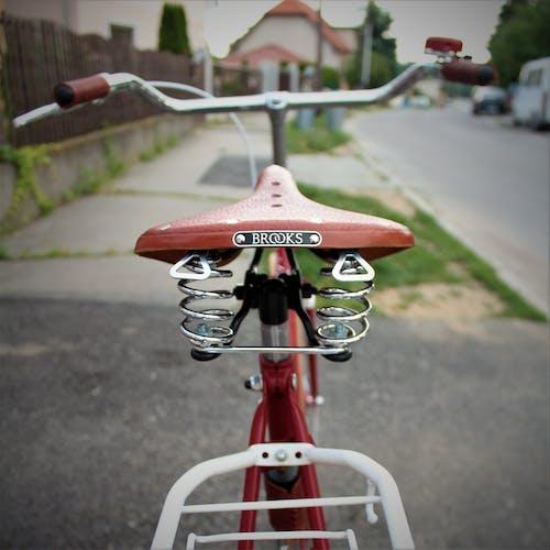 Kostnadsfri bild av chrome, cykel, cykelsadel, fokus