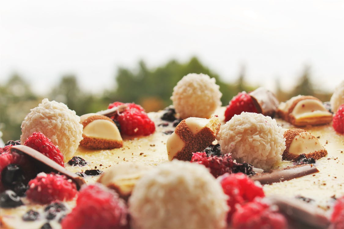 Close-up Photography of Cake Toppings