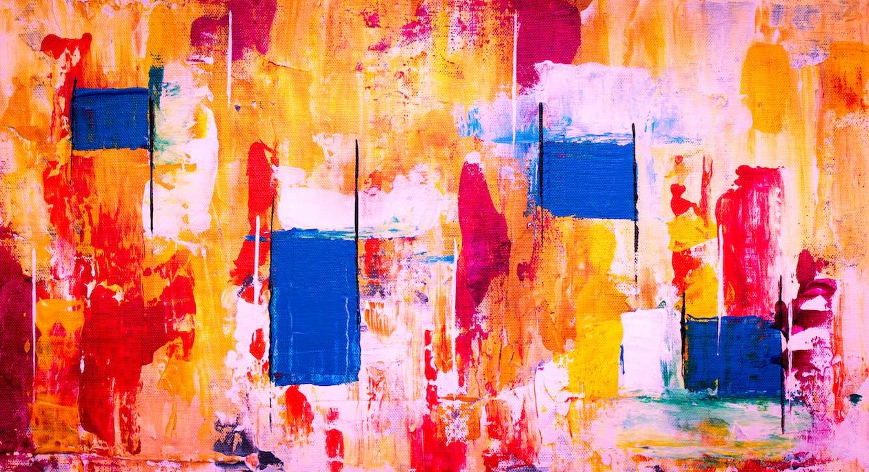abstrak, artistik, berseni