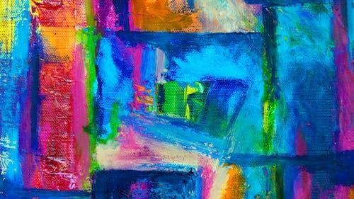 アート, アクリル絵の具, カラフル, クリエイティブの無料の写真素材