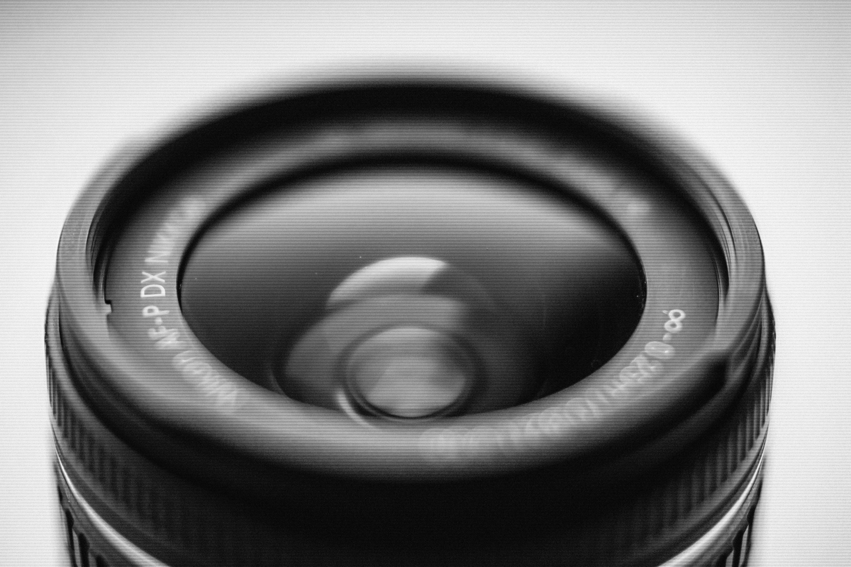 Macro Photo of Camera Lens