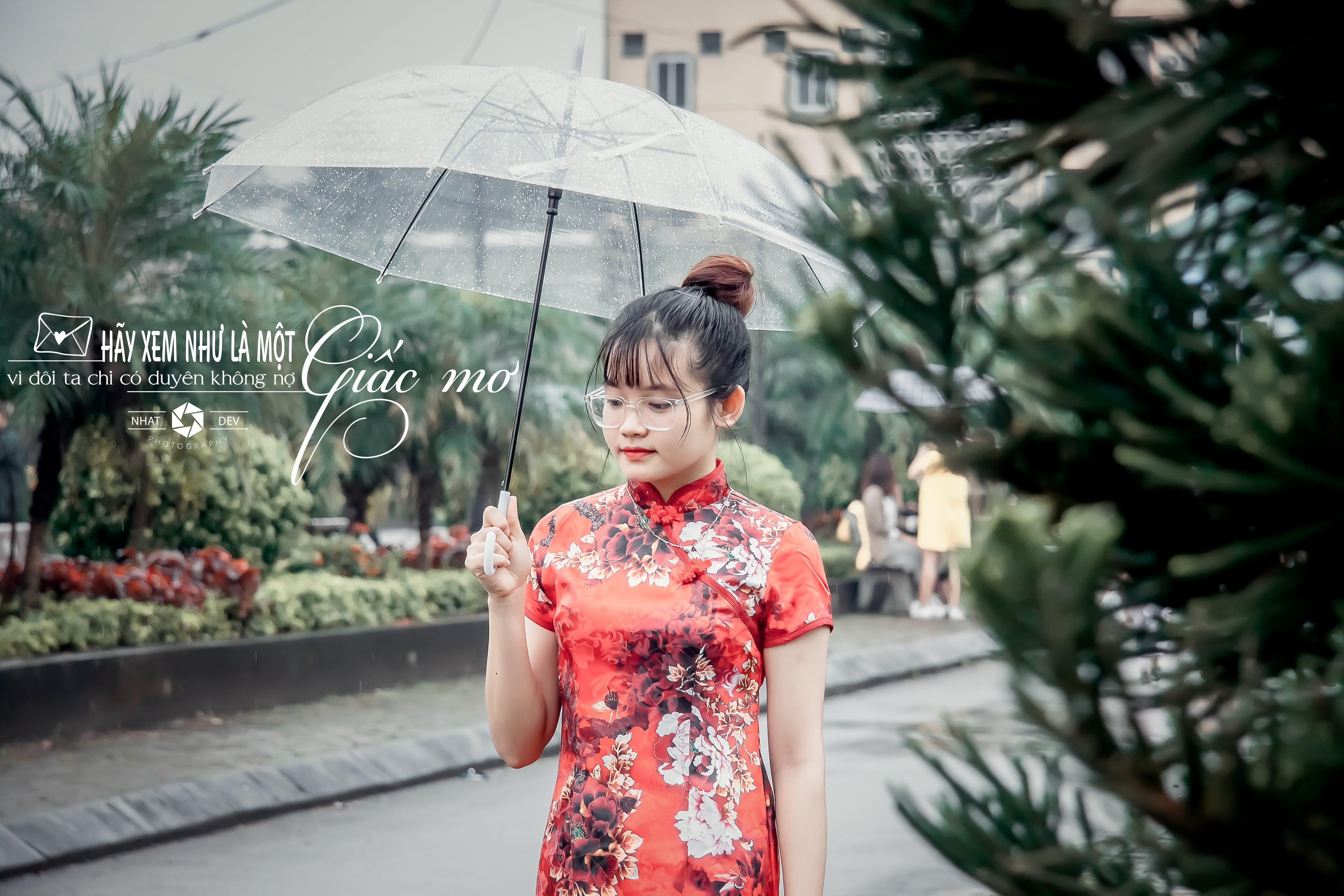 Free stock photo of after the rain, girl, rain