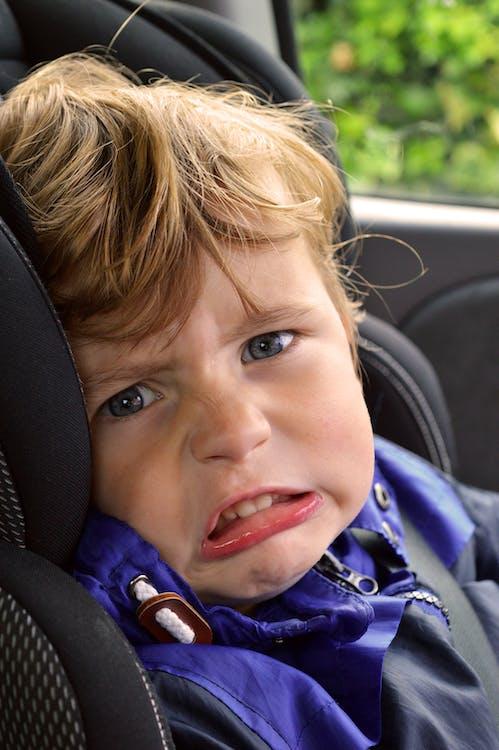 Free stock photo of boy, car, child