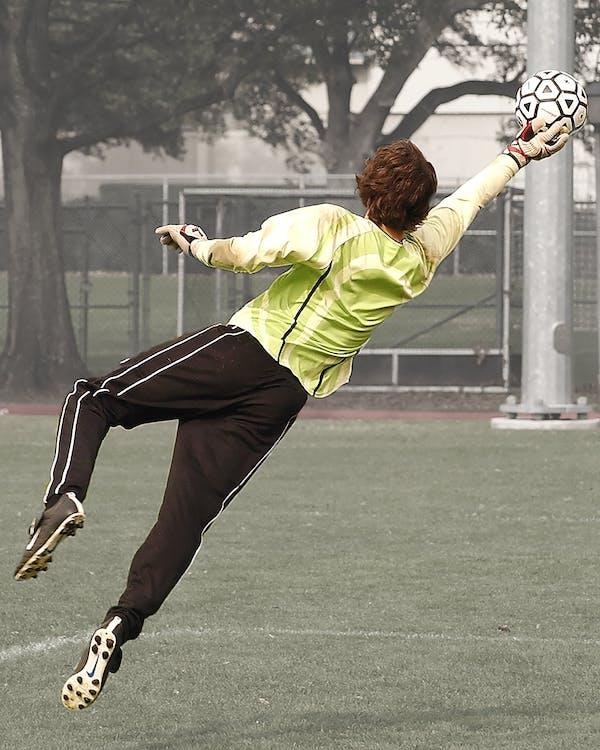 actie, atleet, bal