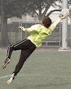 man, field, sport