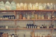 healthy, bottles, glass