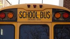 yellow, vehicle, school