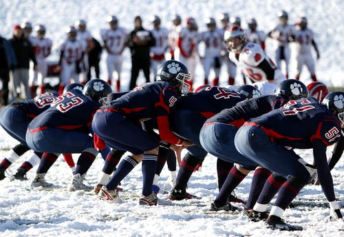 Foto d'estoc gratuïta de atletes, constipat, equip, esport
