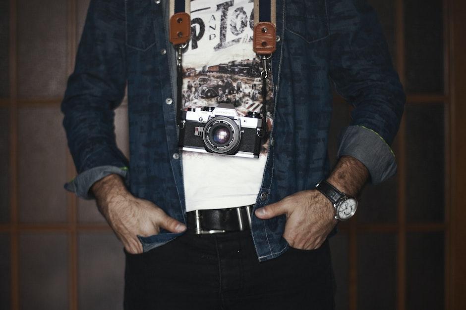 adult, camera, clothes
