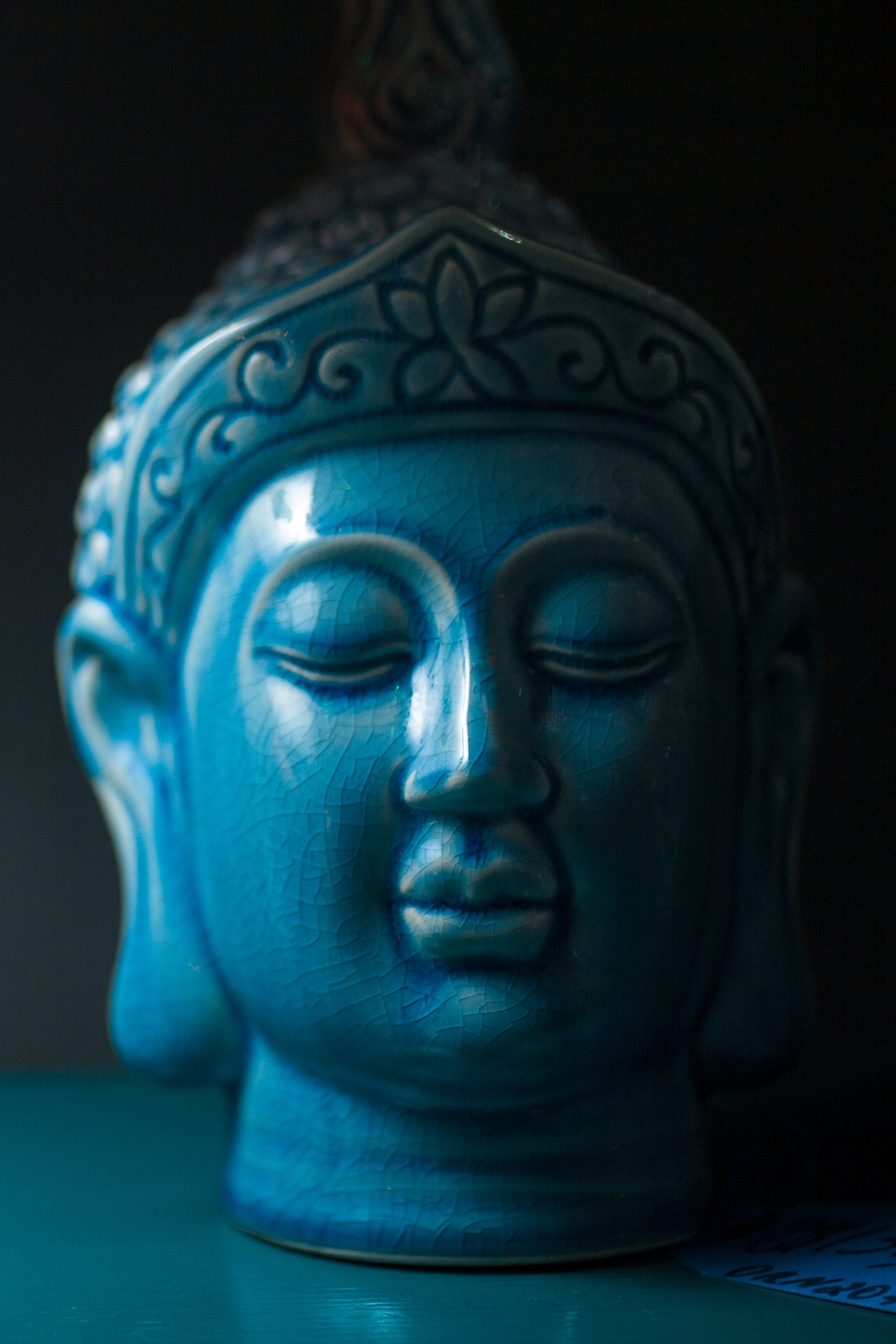 Kostenloses Stock Foto zu mann, kunst, blau, kopf
