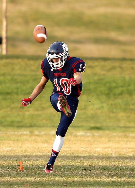 Football Player at Gaming Field