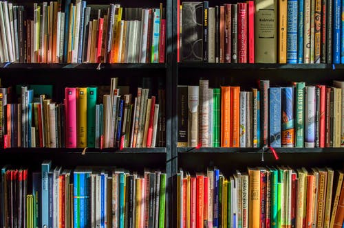 Ảnh lưu trữ miễn phí về giá sách, giáo dục, hàng, kệ
