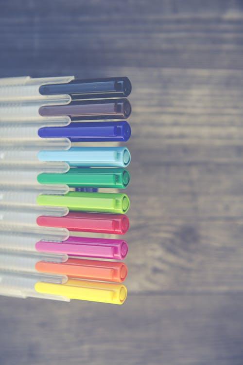 Kostenloses Stock Foto zu ausrüstung, bunt, farbe, farbenfroh
