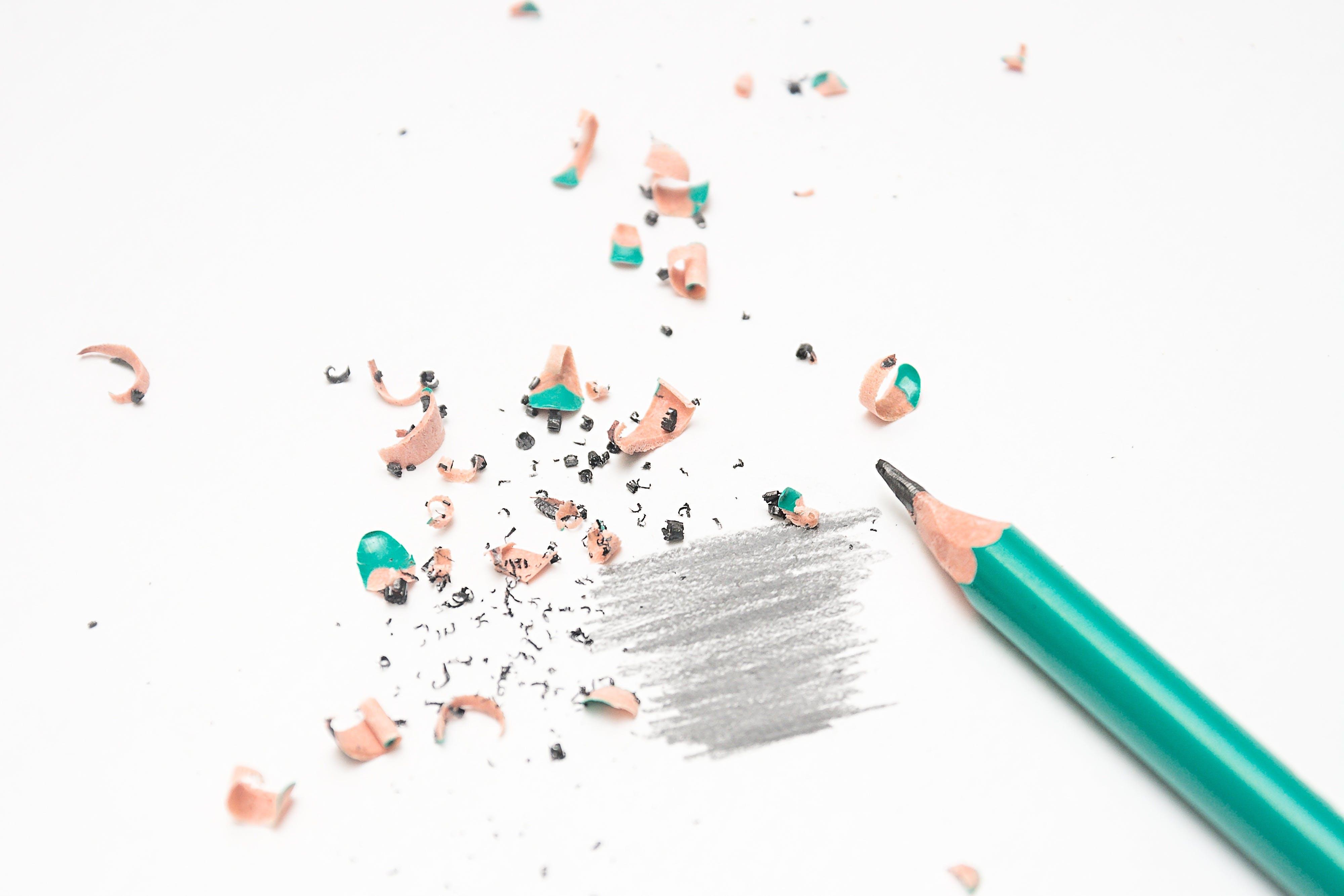 Gratis arkivbilde med blyant, blyantspisser, design, farge
