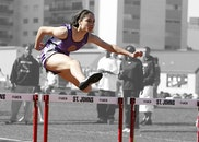 woman, jumping, sport
