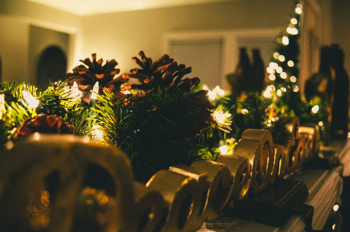 Selective Focus Photography Of Christmas Decorations