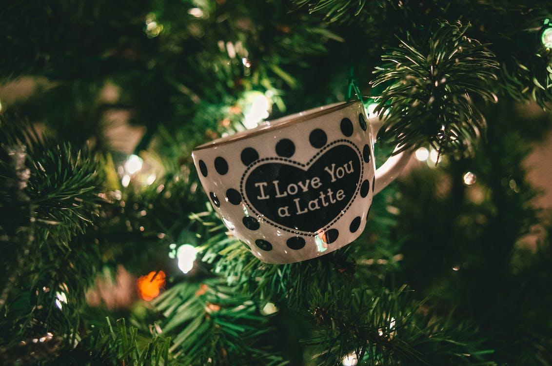 árvore, árvore de Natal, bolinhas