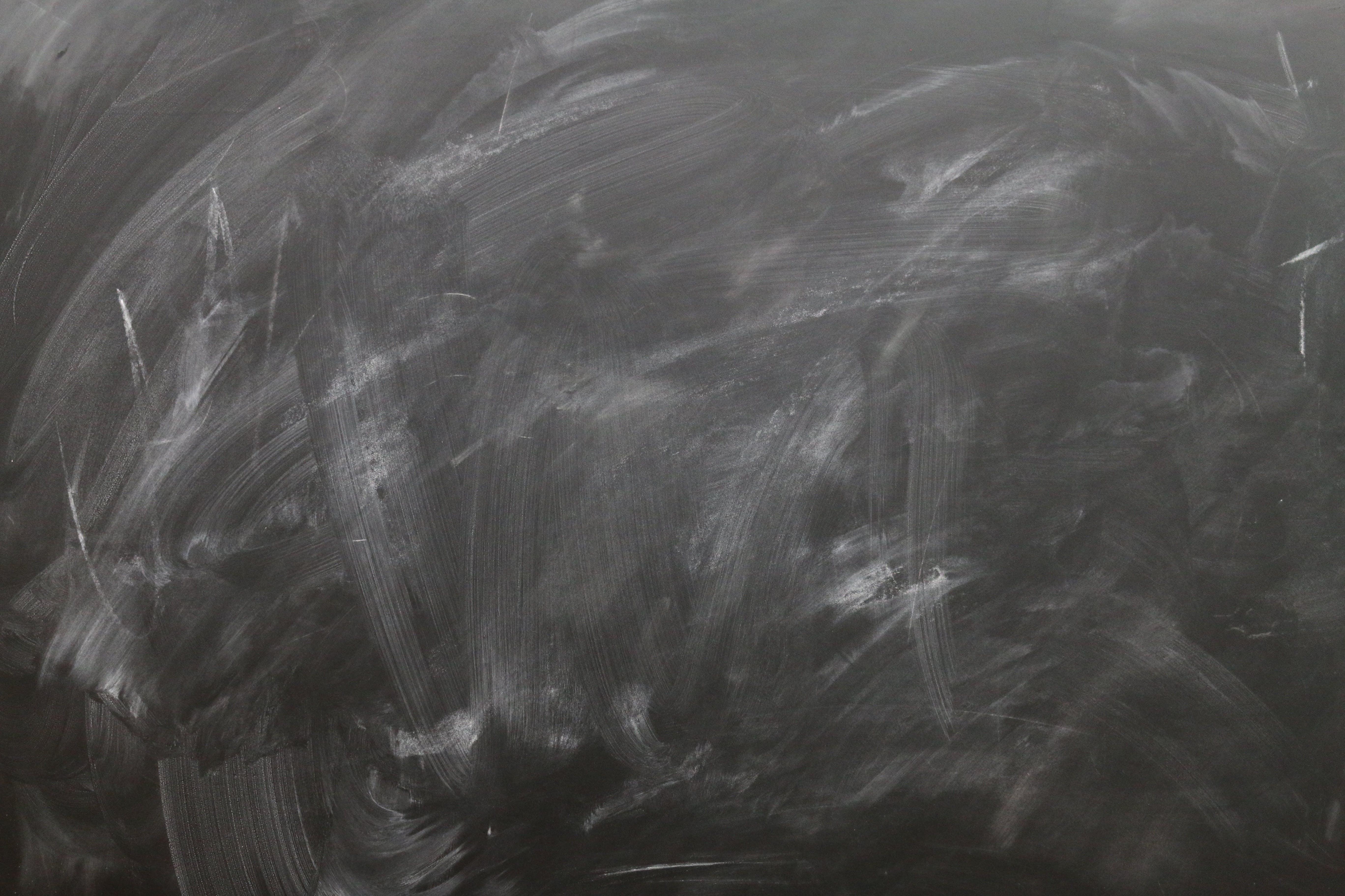 Free stock photo of blackboard, board, chalk, copy space