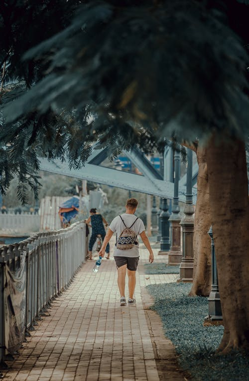 Photo of Man Walking