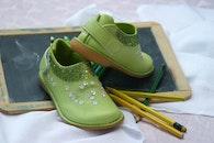 fashion, shoes, green